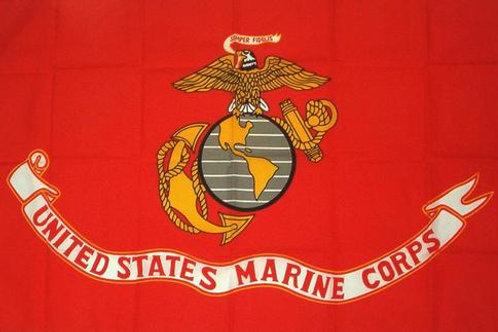 Marines USMC Logo Semper Fi 3′ x 5′ Flag