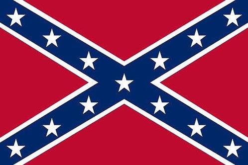 Confederate Battle Flag US Historical 3×5 Flag Banner