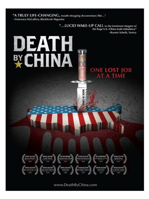 Death By China dvd From best-selling author and filmmaker, Peter Navarro