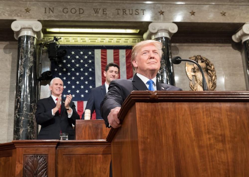 President Trump SOTU, Feb. 2018