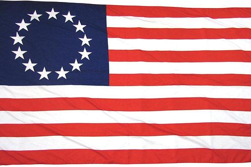 Old Glory 13 Stars Betsy Ross 1777 3×5 Flag