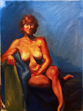 Oil Figure Painting