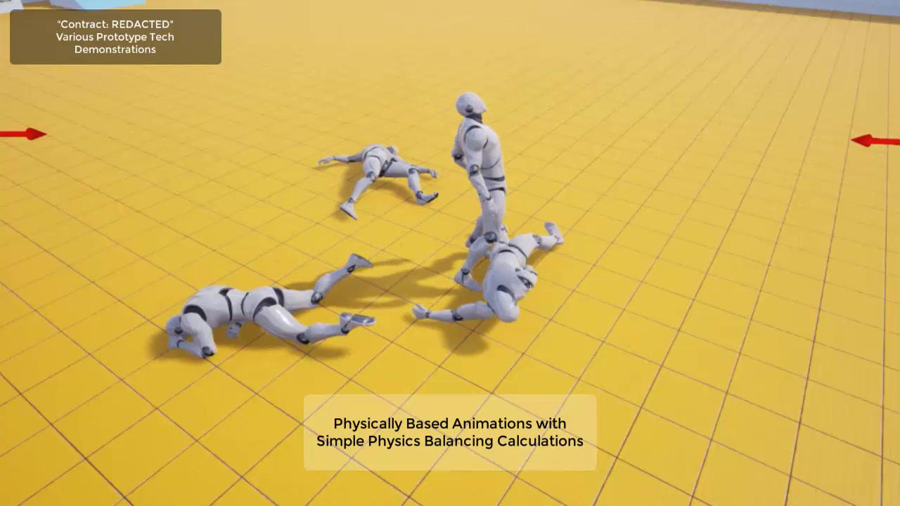 Testing Animation/Physics Blending