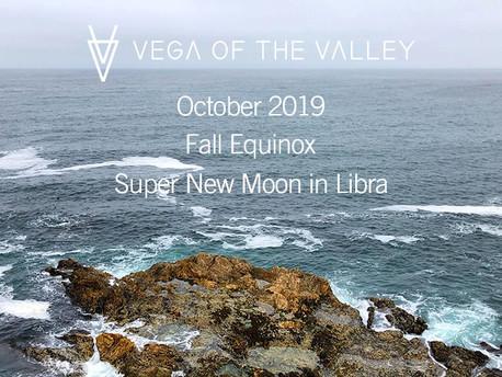 Super New Moon in Libra + Fall Equinox