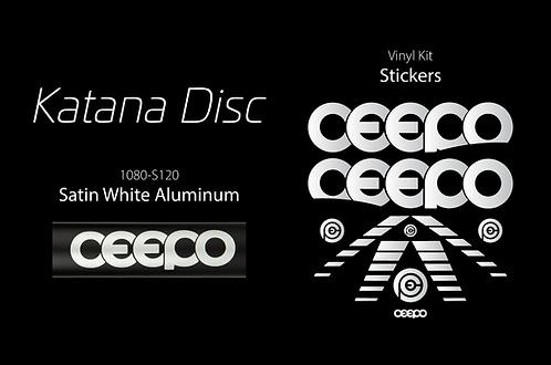 Custom Decals -  KATANA DISC