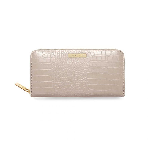 Katie Loxton Large Oyster Croc Purse