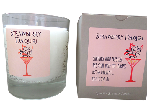 DeKassa Strawberry Daiquiri Candle