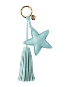 Dream Odyssey Aqua Star Tassel Keyring