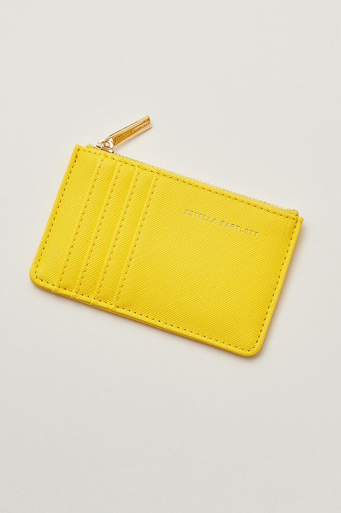 Estella Bartlett Yellow Card Purse