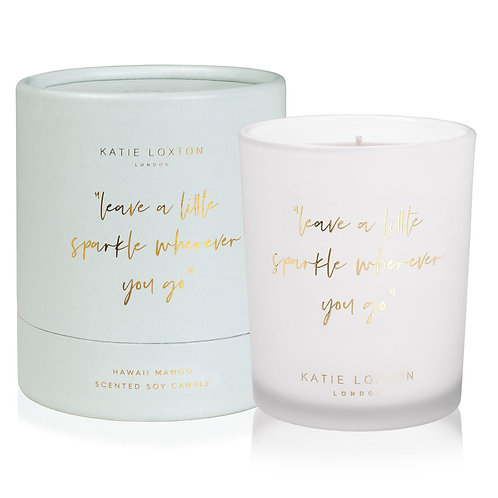 Katie Loxton Leave a Little Sparkle Hawaii Mango Candle