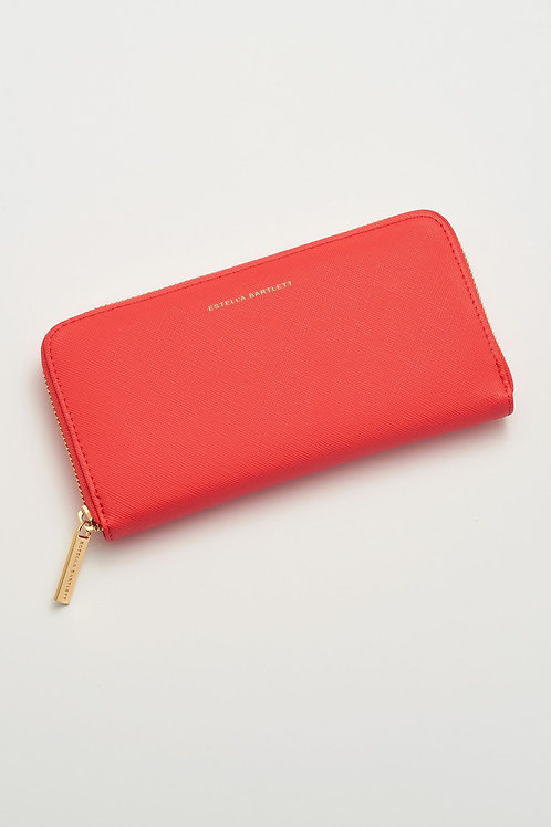 Estella Bartlett Coral Zip Wallet