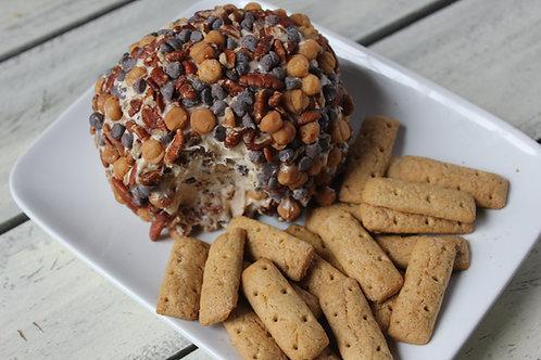 Turtle Cheesecake Cheeseball