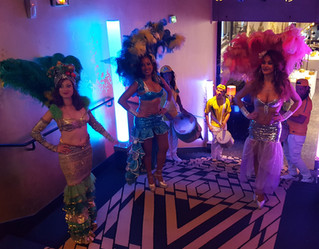 Les spectacles avec Samba Brasil