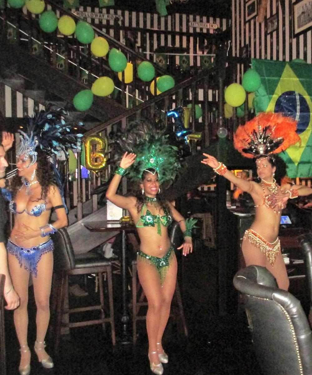 La fête du Brésil au restaurant Au Bureau!