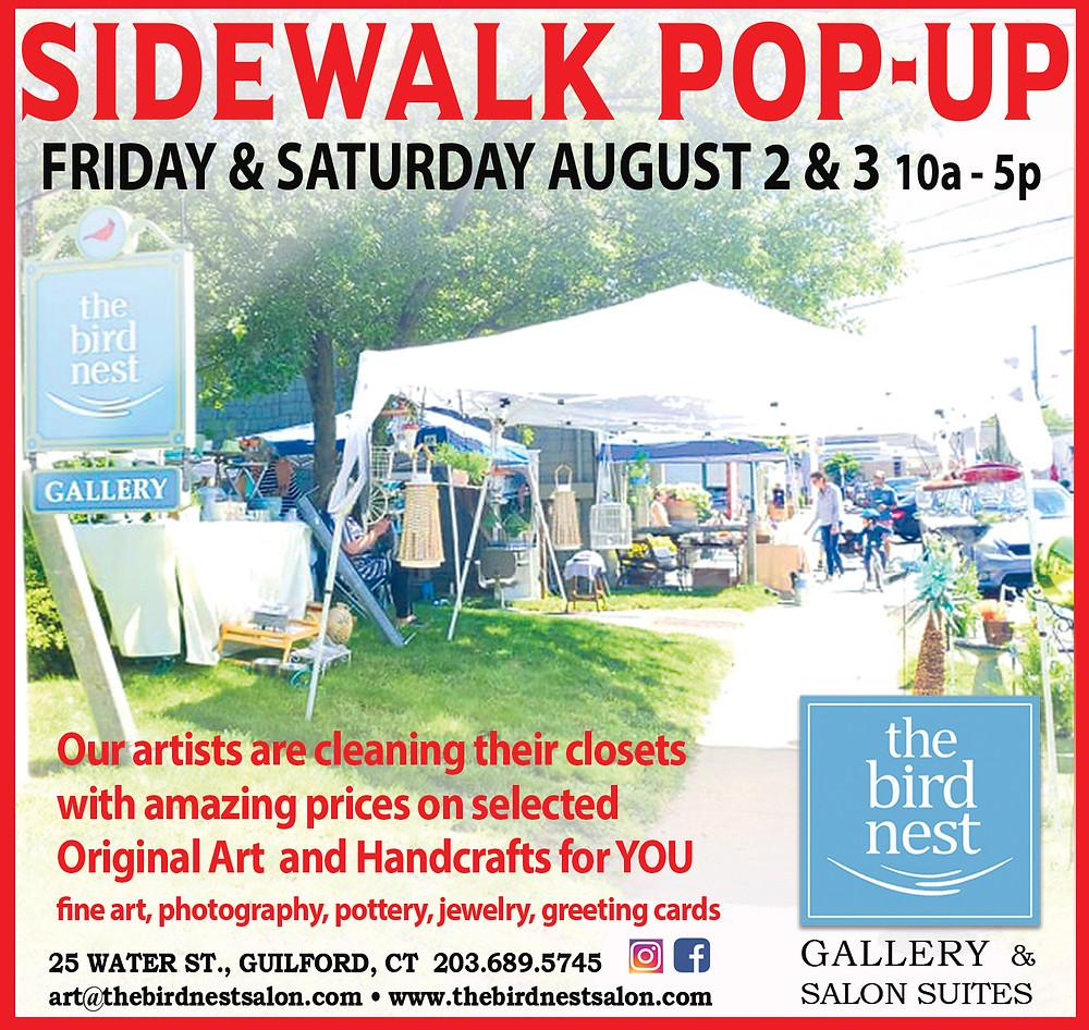 Sidewalk Sales ~ Friday & Saturday
