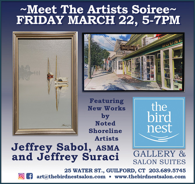 Meet The Artists ~ March 22, 5pm~7pm
