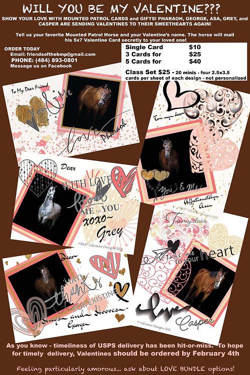 Valentine Palooza - 3 Valentines for $25