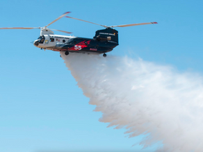 World's largest helicopters join firefighting fleet
