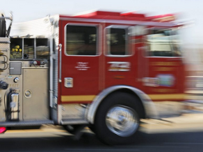 Two-story apartment catches fire in Canyon Country
