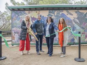 L.A. County unveils new wildlife mural at Vasquez Rocks
