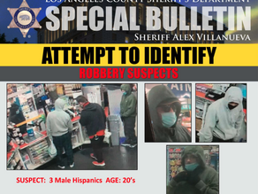 Detectives seek help in identifying robbery suspects