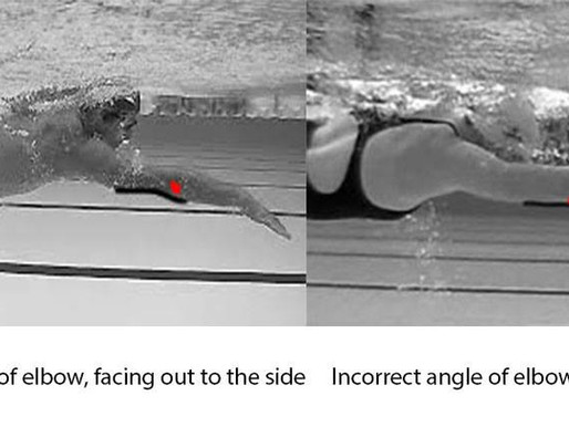 Swimming technique tips