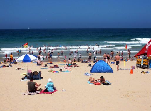 Should I swim at unpatrolled beaches?