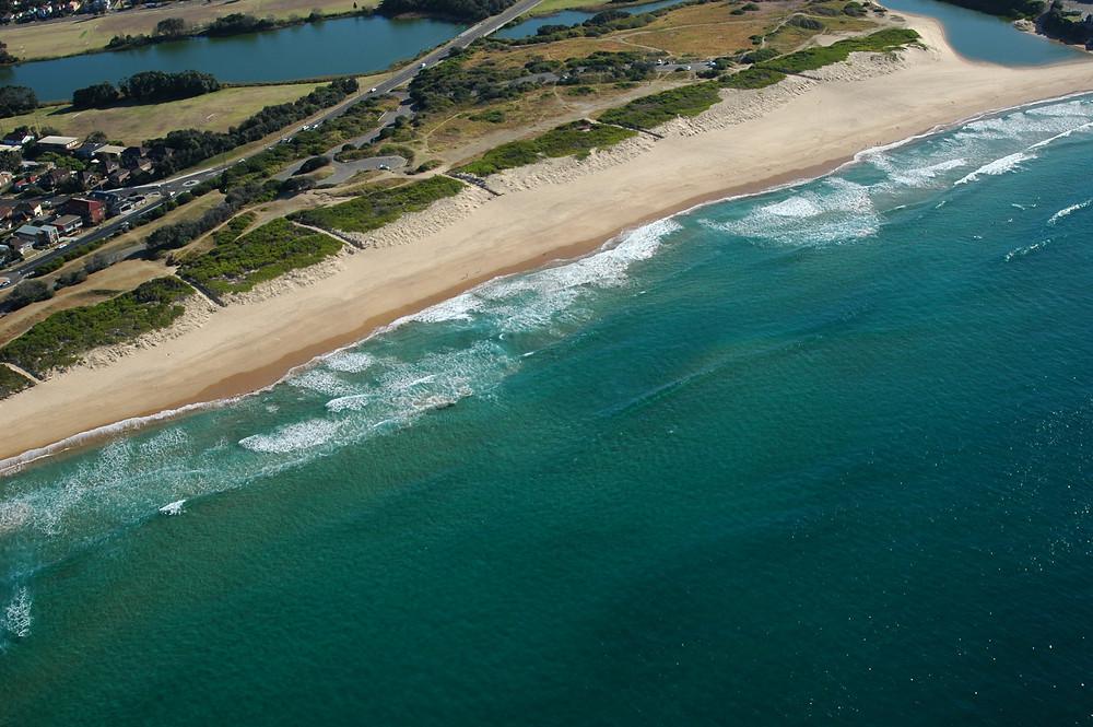 dangerous beach for swimming
