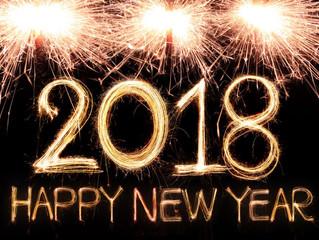 "Happy New Year ""2018"""