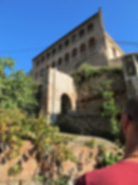 Can Masdeu ecovillage in Barcelona