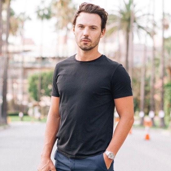 Lewis Alexander photographed in Los Angeles, 2016