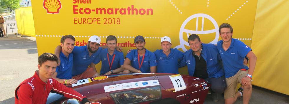 L'équipe au SEM 2018