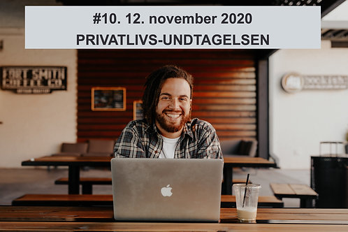 WEBINAR 10. Nyt fra Datatilsynet. 12. november 2020 M