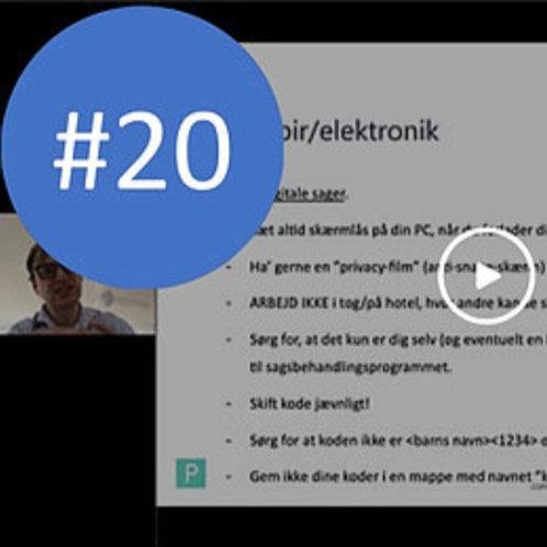 #20. Inkasso og persondata. Webinar af 20/2-2021. BNO