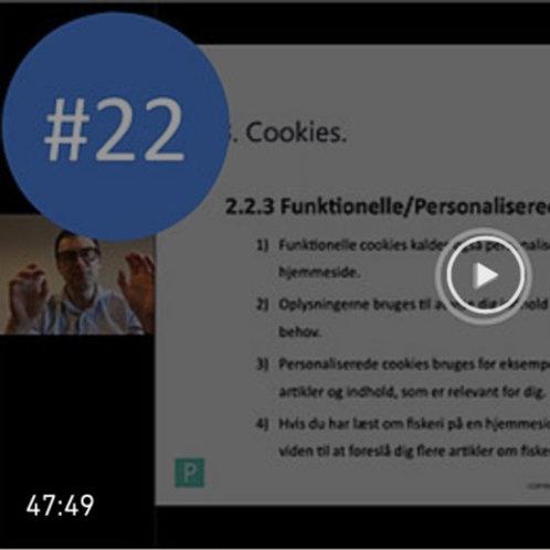 #22. Nyt fra Datatilsynet mv.: Cookies. ILVA-dommen. Webinar af 25/2-2021. BNO