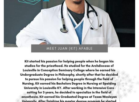 Meet Juan (Kit) Afable...
