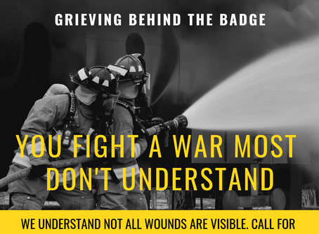 First responder mental health...know the signs of PTSD before it's too late