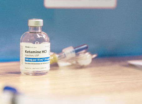Ketamine offers lifeline for people with severe depression, suicidal thoughts...