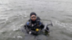 Lost, drone, recovery, scuba