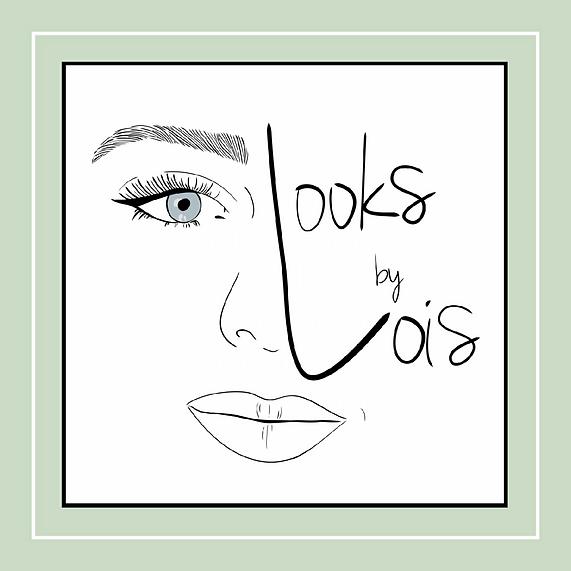 Deze afbeelding bevat het logo van Looks by Lois