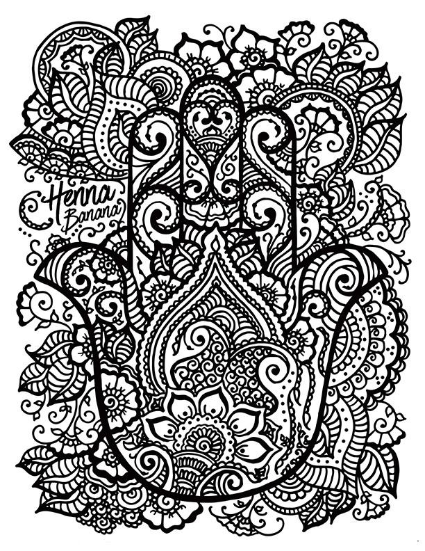 Henna Banana
