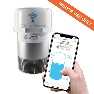 Smart Oil Gauge - WiFi connected level gauge (Indoor Tanks)