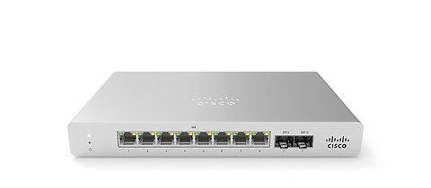Cisco Meraki MS120-8LP Switch, 8 Port POE switch 67W