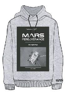 MARS02H - HOODY SWEATSHIRT UNISEX