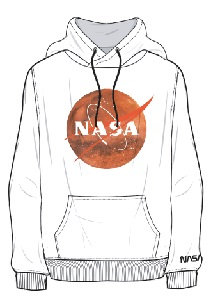 MARS11H - HOODY SWEATSHIRT UNISEX