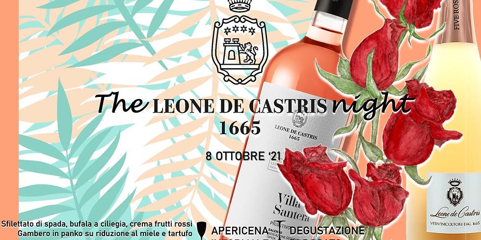 The LEONE DE CASTRIS night