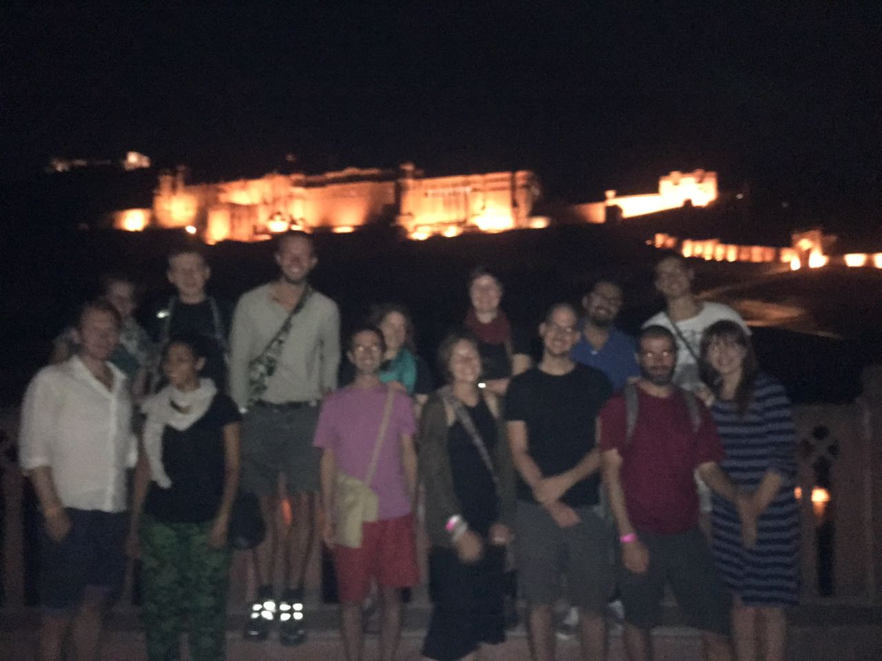 Jaipur by Night | Amber Fort