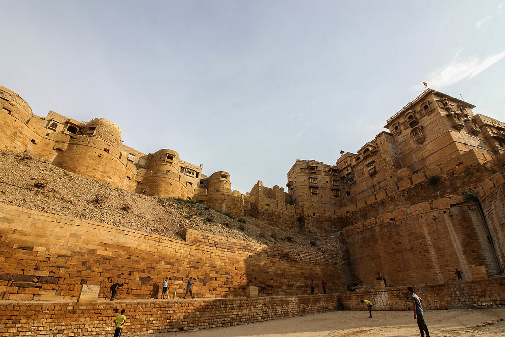 Jaisalmer fort during the day