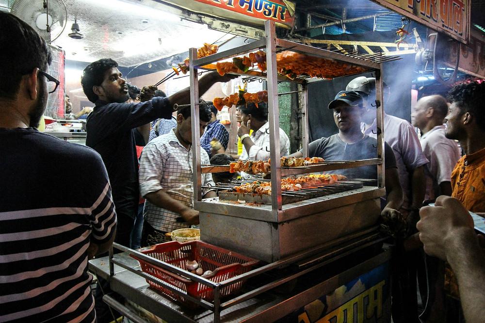 Street food at Raja Park