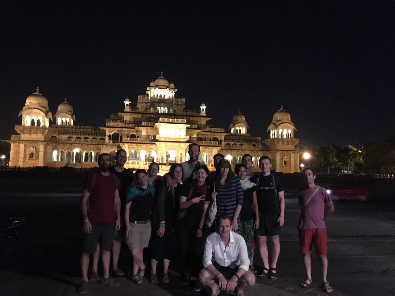 Jaipur by Night tour | Albert hall